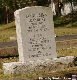 Fannie Granbury Grave Site